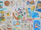 STAMP Topical 《SPORTS》 100pcs lot OFF paper philatelic collection thematic
