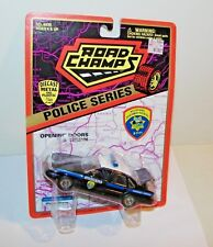 Road Champs Diecast Car 1/43 Montana Highway Patrol 3-7-77 Police Cruiser New
