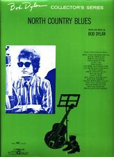 BOB DYLAN NORTH COUNTRY BLUES SHEET MUSIC PIANO/VOCAL/GUITAR/CHORDS 1963 NEW