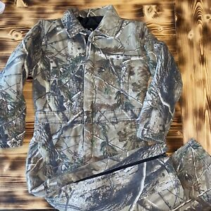 Walls Real Tree Camo Insulated Coveralls Youth Size 8 Regular