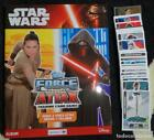 Album Star Wars: Topps Force Attax Tradding cards game - Nuevo y vacio + 76 crom