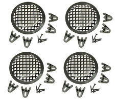 """4 Pack Procraft 5"""" Speaker Grill With Mounting Hardware for 5""""  Woofers   PG05"""