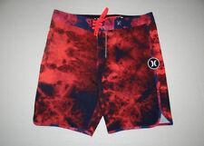 Hurley Shibori Phantom Boardshort (32) Bright Crimson