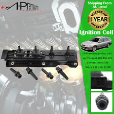 Ignition Coil for Peugeot 306 406 605 Citroen Xantia Xsara 1.8L 2.0L 1997-2004