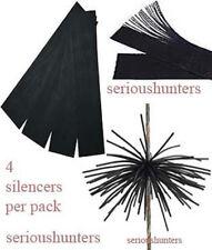 4-in gomma stringa SILENZIATORI Whiskers smorzatori per composto ricurva arco