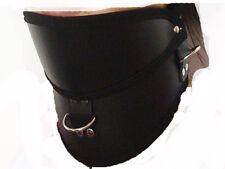 Quality PU leather Posture Fetish Neckcollar Neck Corset Collar Restraint