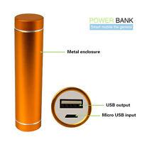 2600mAh External Portable Power Bank Backup Battery USB Charger For Mobile Phone
