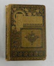 The Last London Edition Poetical Works of Elizabeth Browning Book James Miller