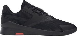 Reebok Lifter PR II Mens Weightlifing Shoes - Black