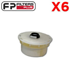 6 x MF198 OSK Fuel Filter- Coss References Ryco R2657P, Wesfil WCF95, 2339051070