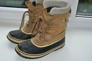 Sorel Waterproof Pac 2 Snow Winter Leather Boots 1645-280 Size UK5.5/38.5/US7
