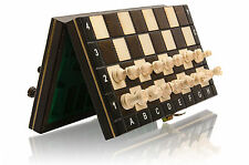 GREAT TRAVEL MAGNETIC WOODEN CHESS SET - BEAUTIFUL APEARANCE!!! BARGAIN!!!