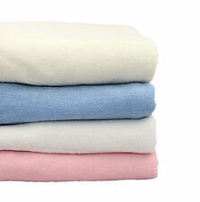 """Stretch Terry Towelling Fitted Sheets - 10"""" Extra Deep Single Double King"""