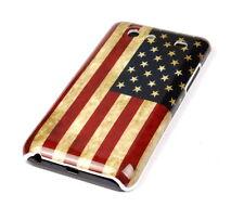 Schutzhülle f Samsung Galaxy S Advance i9070 Tasche Case USA Amerika Flagge