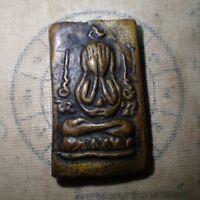 VERY RARE 2 TAILS GECKO LIZARD THAI BUDDHA GAMBLER AMULET FOR LUCKY WEALTH POWER