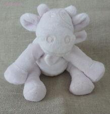 Noukie's***Doudou/peluche/blanket  Vache Lola Rose tendre