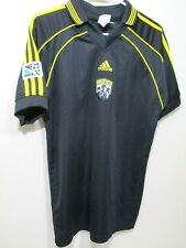 Adidas The Crew Soccer Jersey Black Men Size Extra Small Columbus MLS VGC