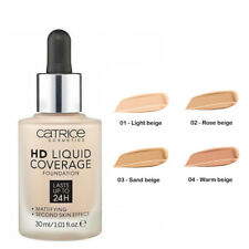 Catrice HD Liquid Coverage Foundation 24h All Shades 100% Genuine Rose Sand Warm