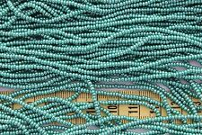 Luster Dark Green 11/0 Czech Glass Seed Beads Crafts Jewelry Making /hank