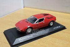 MINICHAMPS 400123420 Maserati Merak 1974 Red 1/43 #NEW