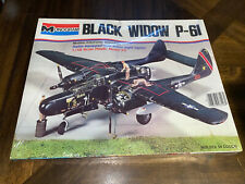 Factory Sealed Vintage Monogram 1:48 Black Widow P-61 Kit No. 5456