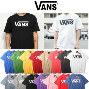 Womens Mens Casual VAN S Printing Round Neck Short Sleeve Blouse Loose T Shirts