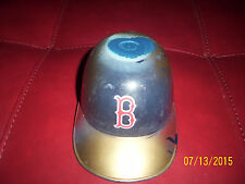 Armand Lamontagne original painting of red sox helmet rare one of a kind