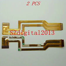 "2PCS/ ""FP-185 "" NEW LCD Flex Cable for SONY DCR- HC17E HC19E HC21E HC22E HC32E"