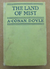 THE LAND OF MIST - by A. Conan Doyle - 1st American Edition - 1926