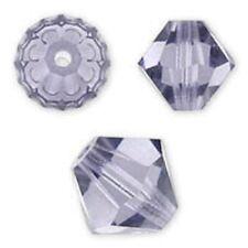 Genuine Swarovski Crystal Bicone, Violet Color. 3mm. Approx. 144 PCS. 5328
