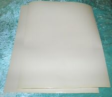 "Static Cling Window Film Vinyl 12""x 12.00"" 7.5mil Clear Removable Cling 2 Sheets"