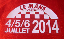 LEMANS LE MANS CLASSIC 2014 DECAL STICKER STATIC CLING GLASS