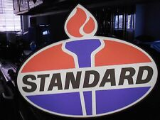 Standard Oil Lighted Sign