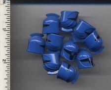 Star Wars LEGO x 10 Blue Minifig, Headgear Helmet SW Senate Commando 8039 8128