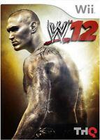 WWE '12 - Nintendo Wii Game