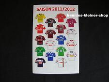 1.Bundesliga Magnet-Trikot-Pins 11/12 Liga Pin DFL 2011/2012