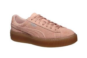 PUMA Suede Platform Jewel Jr. Sneaker
