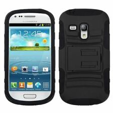 Galaxy S III Mini Black Advanced Case with Stand