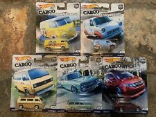 Hot Wheels Car Culture 2018 Cargo Carriers - Set of 5 FREE SHIPPING