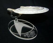 acrylic replacement display base for Eaglemoss Star Trek Enterprise D TNG option