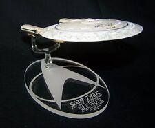 acrylic replacement display base for Eaglemoss Star Trek Enterprise D TNG option