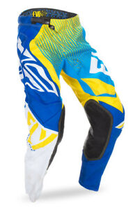FLY RACING EVOLUTION 2.0 MX PANTS BLUE/YELLOW/WHITE