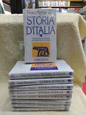 STORIA D'ITALIA - MONTANELLI E GERVASO VOLUMI DA 1 A 9