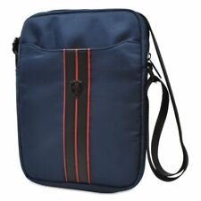 "Ferrari Urban Collection 10"" Tablet / iPad Bag Manbag -  in Navy Blue"