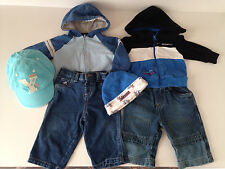 6 pc baby wholesale mix clothes lot,boys mix 3-6 mon unisex pre-owned.