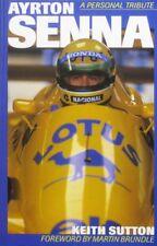Ayrton Senna - A Personal Tribute - Hardcover 1997