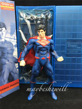 """Crazy Toys DC Superman Action Figure Superman Rebirth Justice League 7"""" Toy Gift"""