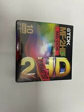 More details for brand new tdk mf-2hd ms-dos floppy disk (sealed box)