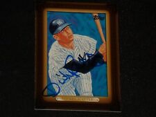 MICKEY MANTLE 2008 TOPPS WAL-MART CARD NY YANKEES SIGNED BY ARTIST DICK PEREZ