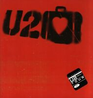 U2 2001 ELEVATION WORLD TOUR CONCERT PROGRAM BOOK / BONO / THE EDGE / NMT 2 MINT
